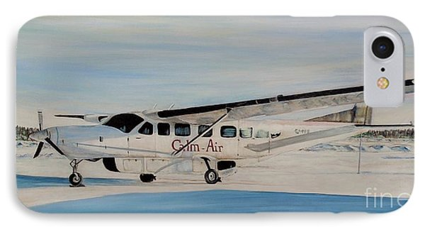 IPhone Case featuring the painting Cessna 208 Caravan by Marilyn  McNish