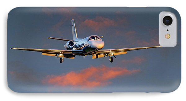 Cessna Citation IPhone Case by James David Phenicie