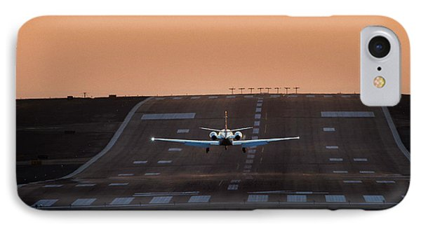 Cessna Citation On Short Final IPhone Case by James David Phenicie