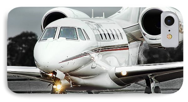 Cessna Citation X IPhone Case by James David Phenicie