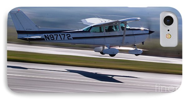 Cessna Takeoff IPhone Case by John Daly