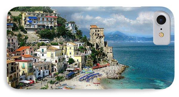 Cetara. Amalfi Coast Phone Case by Jennie Breeze