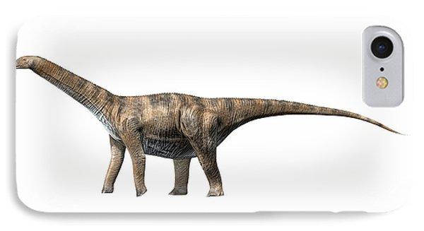 Cetiosaurus Oxoniensis, Middle Jurassic Phone Case by Nobumichi Tamura