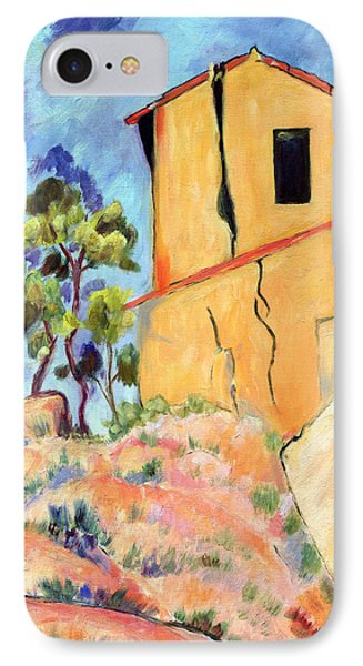 Cezanne's House With Cracked Walls Phone Case by Jamie Frier