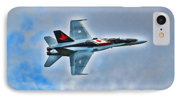 Cf18 Hornet  IPhone Case by Cathy  Beharriell