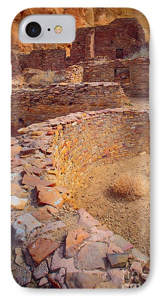 Chaco Ruins #1 IPhone Case by Inge Johnsson