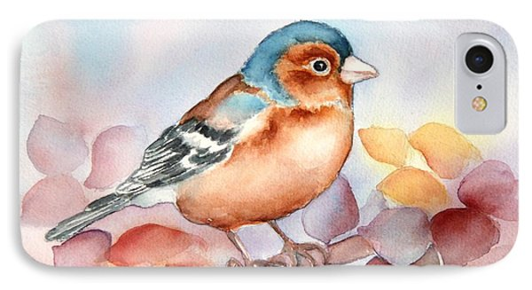 Chaffinch 2 IPhone Case by Inese Poga