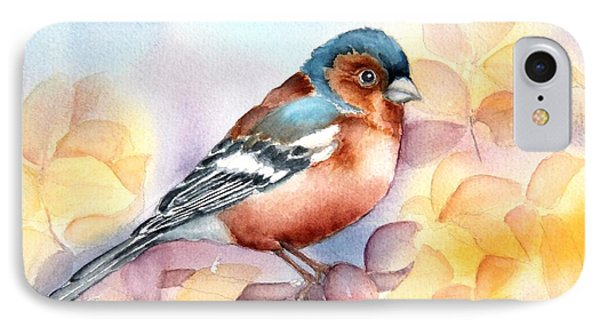 Chaffinch 3 IPhone Case by Inese Poga