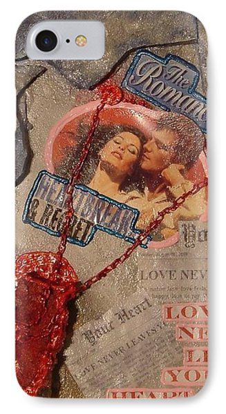 IPhone Case featuring the painting Chains Of Love by Lisa Piper
