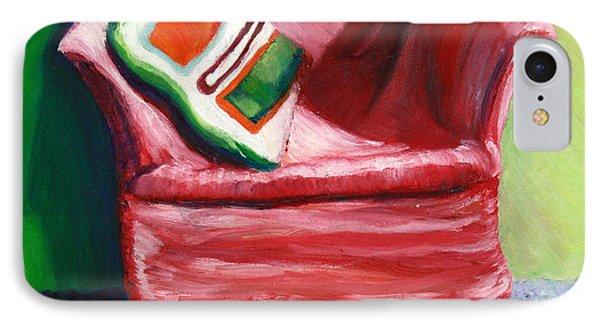 Chair Phone Case by Aletha Keogh