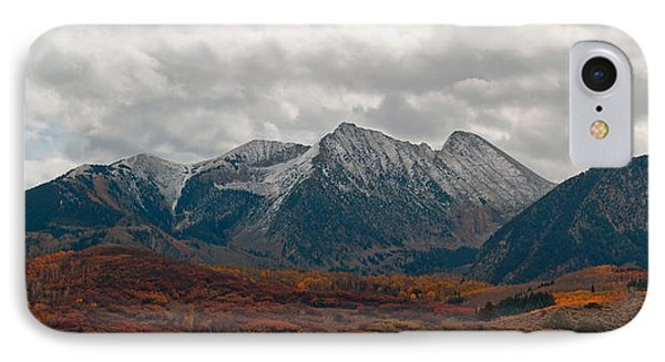 IPhone Case featuring the photograph Chair Mountain  by Eric Rundle
