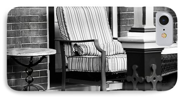 Chair On The Porch Phone Case by John Rizzuto