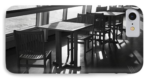 Chairs And Tables IPhone Case