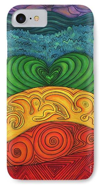 Chakra Ascension Phone Case by Deborha Kerr