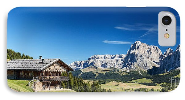 Chalet In South Tyrol IPhone Case by Carsten Reisinger