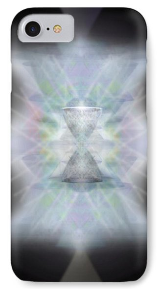 IPhone Case featuring the digital art Chalice Emerging by Christopher Pringer