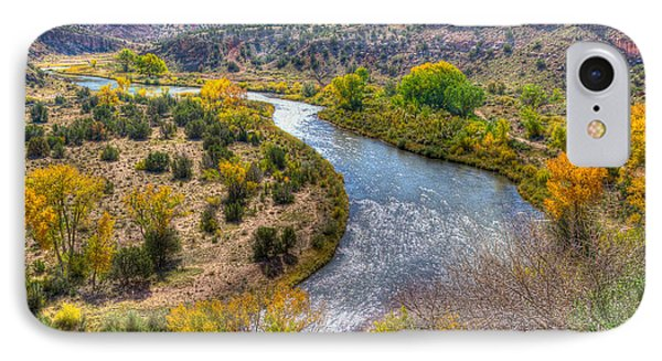 Chama River Overlook IPhone Case by Alan Toepfer