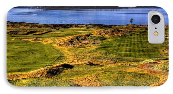 Chambers Bay Lone Tree Phone Case by David Patterson