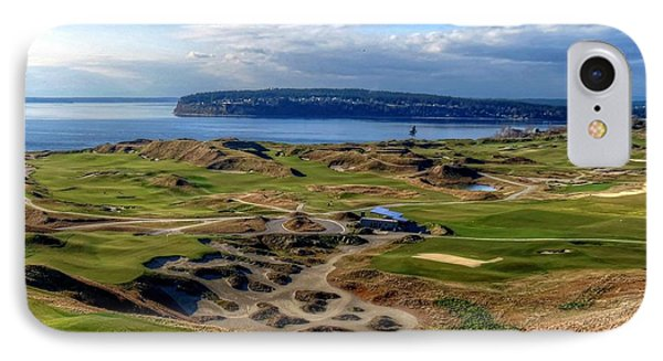 Chambers Bay View 2013 Cropped IPhone Case by Chris Anderson