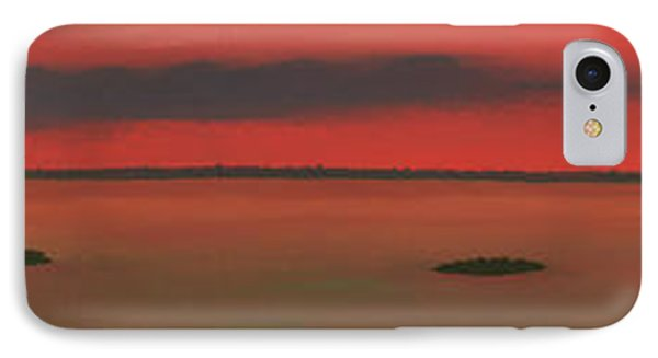 Chambers Island Sunset IPhone Case