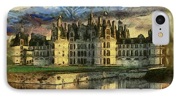 Chambord Castle IPhone Case by Georgi Dimitrov