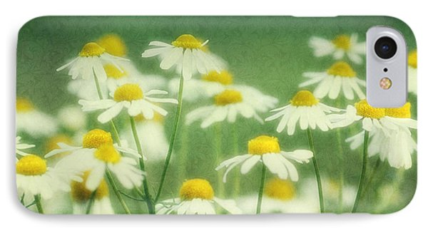Chamomile Phone Case by Claudia Moeckel