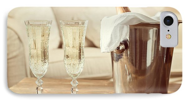 Champagne Celebration IPhone Case