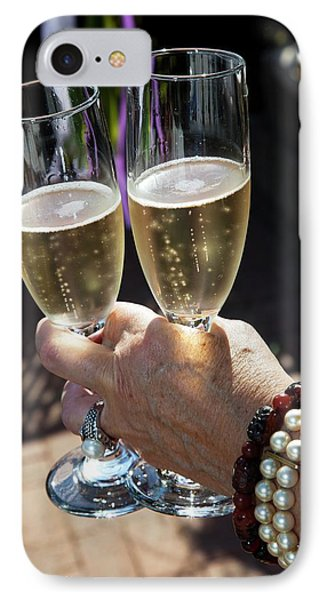 Champagne Celebration IPhone Case by Jim West