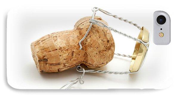 Champagne Cork Stopper IPhone Case by Fabrizio Troiani