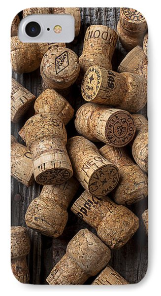 Champagne Corks IPhone Case by Garry Gay