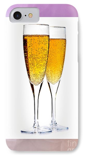Champagne In Glasses IPhone Case