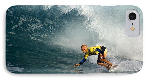 Champion At Pipeline Masters  IPhone Case by Kevin Smith