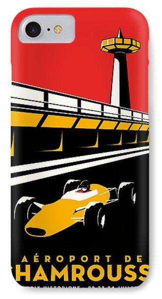 Chamrousse Grand Prix IPhone Case by Georgia Fowler
