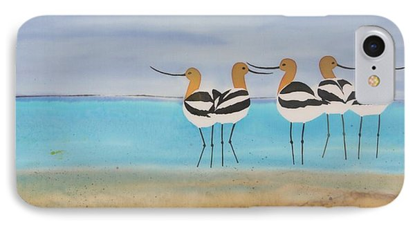 Chance Encounter At The Beach IPhone Case