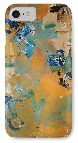 IPhone Case featuring the painting Chance Meeting by Nancy Kane Chapman