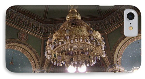 Chandelier Of Sofia Synagogue IPhone Case
