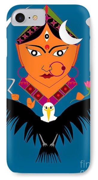 Chandraghanta IPhone Case