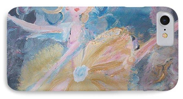 Changement Ballet Phone Case by Judith Desrosiers