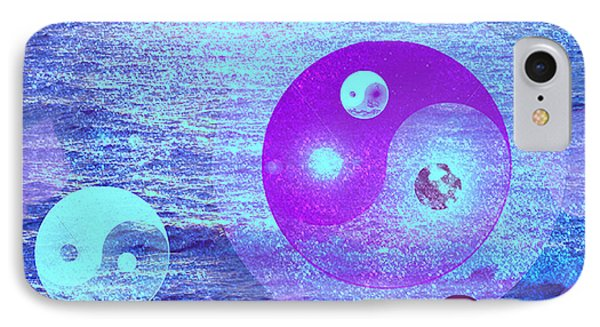 Changing Currents Of Reality IPhone Case by Ute Posegga-Rudel