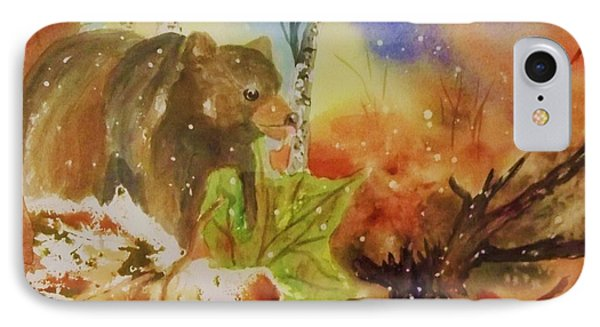 Changing Of The Seasons - Square Format Phone Case by Ellen Levinson