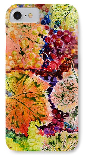 IPhone Case featuring the painting Changing Seasons by Karen Fleschler