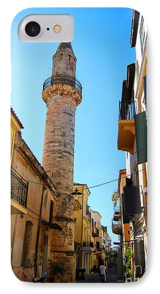 Chania Mosque 12 IPhone Case