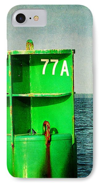 Channel Marker 77a IPhone Case by Rebecca Sherman