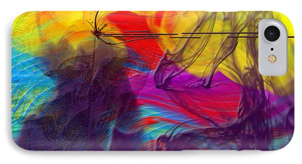 IPhone Case featuring the digital art Chaos by Clayton Bruster