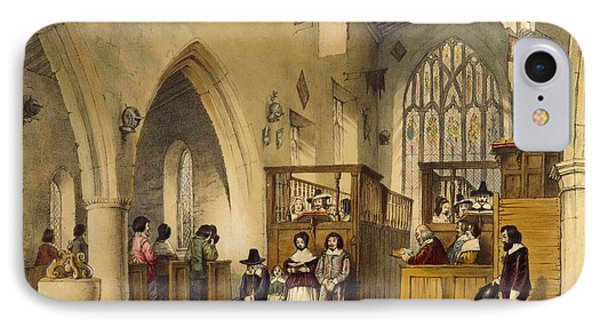 Chapel At Haddon Hall, Derbyshire IPhone Case