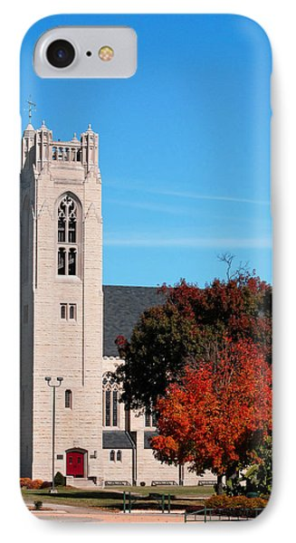 IPhone Case featuring the photograph Chapel At The College Of The Ozarks by Lena Wilhite
