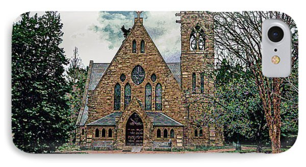 Chapel At University Of Virginia IPhone Case by Jerry Gammon