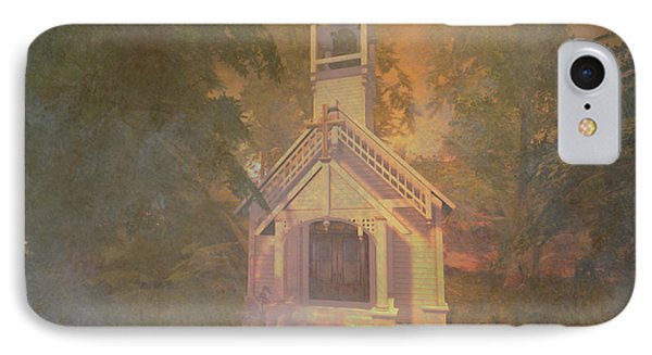 Chapel In The Wood IPhone Case by Kylie Sabra