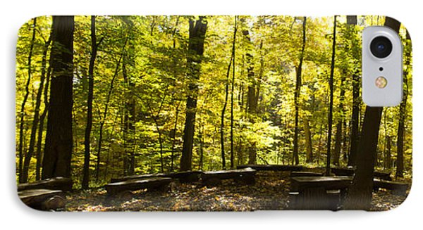 IPhone Case featuring the photograph Chapel In The Woods by Cathy Donohoue