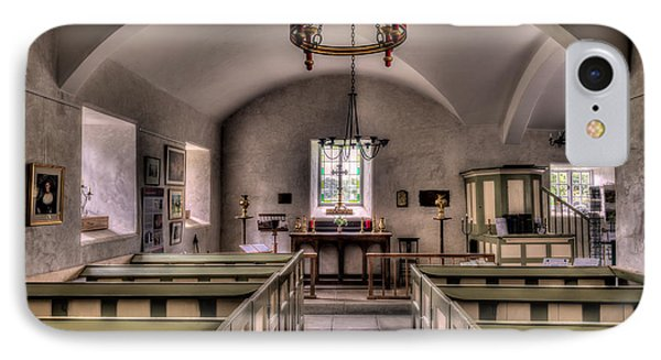 Chapel In Wales IPhone Case by Adrian Evans